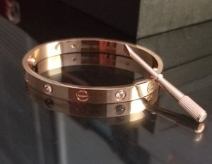 Rose Gold Love Bracelet Size 18cm Comes with Logo Box and Bag for Sale in Aspen Hill, MD