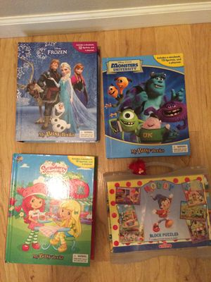"""3 story books and """"Nody"""" block puzzles for Sale in Palos Park, IL"""