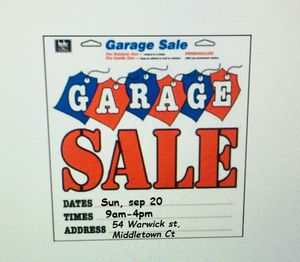 Tag sale from 9am-4pm at 54 Warwick st Middletown ct for Sale in Middletown, CT