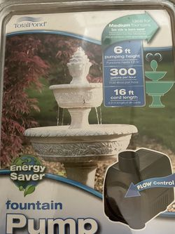 Total pond fountain pump for Sale in Northbrook,  IL