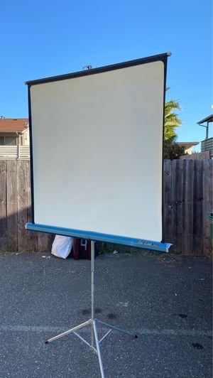 Projector screen. for Sale in Hayward, CA