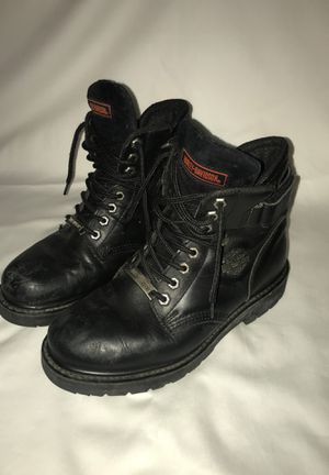 Mens 8.5 Leather Harley Davidson Boots motorcycle for Sale in Lakewood, CO