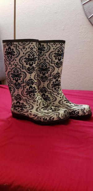 Women's size 10 rain boots for Sale in Morrison, CO