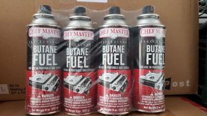 Brand New Chef Master Butane Fuel - 8oz - pack of 4 for Sale in Mission Viejo, CA