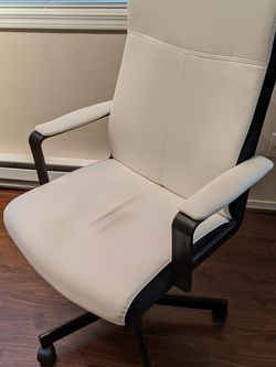 Office Chair (White Ikea Millberget) for Sale in Kirkland,  WA