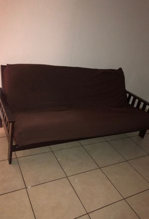 Brown futon for Sale in Winter Haven, FL