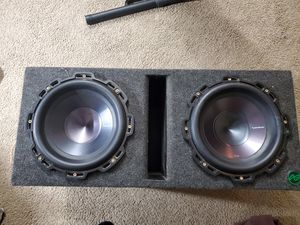 Rockford fosgate subs for Sale in Tempe, AZ
