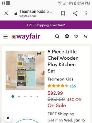 play kitchen set for Sale in Valdosta, GA