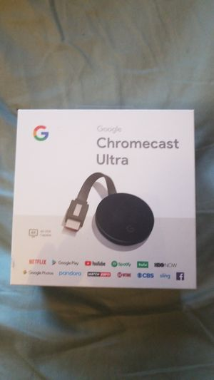 google chromecast ultra for Sale in Spring Valley, CA