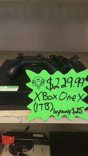 Xbox one X for Sale in Dallas, TX
