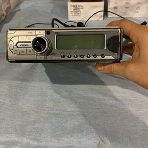 Clarion Boat Radio + CD And Front Aux Input for Sale in Sterling Heights, MI