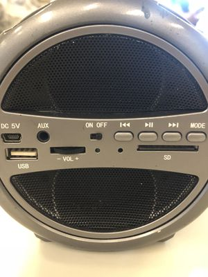 Sound logic xt Bluetooth speaker for Sale in Las Vegas, NV