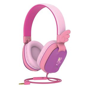 Brand New)Kids Headphones, Lightweight Foldable Stereo with Sharing Function,Compatible for iPad/iPhone/PC/Kindle/Tablet (Purple Pink) for Sale in Duluth, GA
