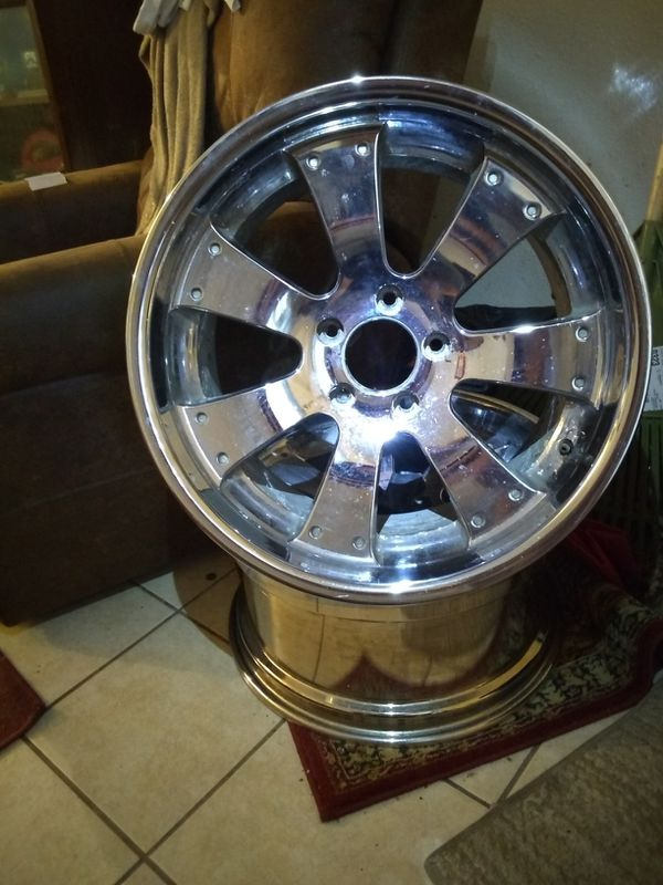 20 inch rims (2 ONLY) CHROME