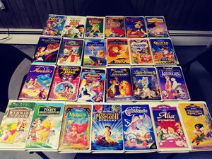 Lot of 25 Disney VHS Movies for Sale in Carteret, NJ