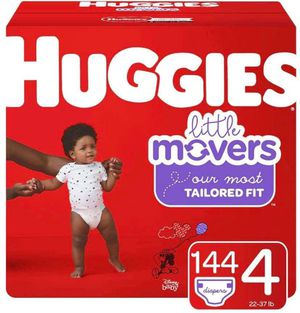 Huggies diapers size 4 little movers for Sale in Downey, CA