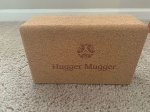 Hugger mugger cork yoga block for Sale in Fort Meade, MD