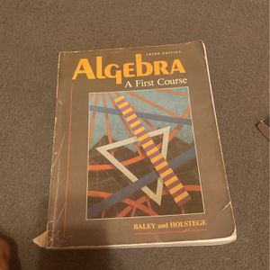 Algebra: A First Course for Sale in Seal Beach, CA