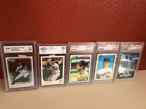 Baseball ⚾️ cards. Graded for Sale in Fresno, CA