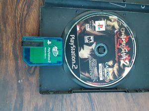 PS2 Onimusha game with memory card for Sale in Washington, DC