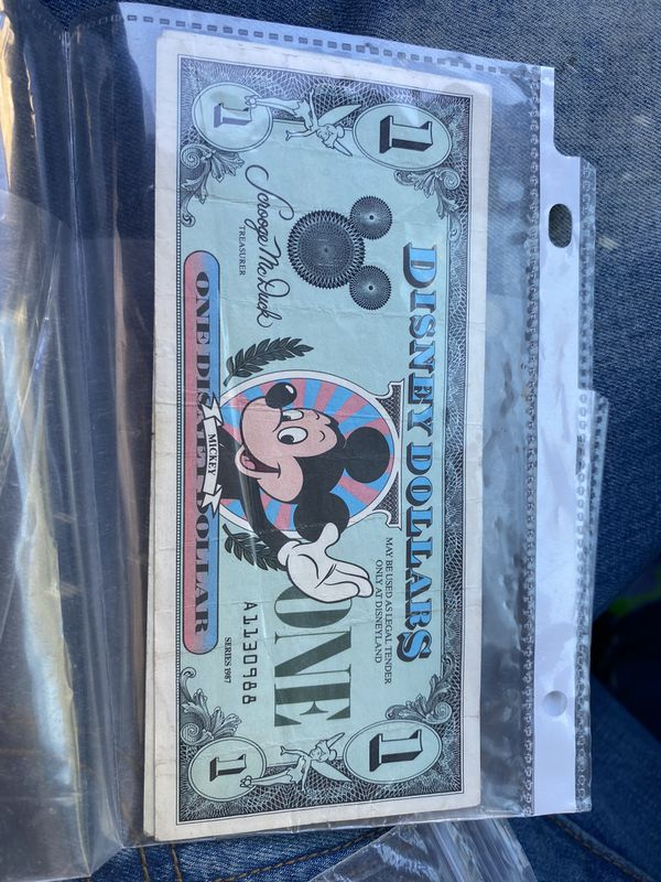 """Disney & Toys """"R"""" Us collectible tickets"""