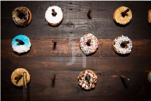 Donut wall with stand for Sale in St. Petersburg, FL