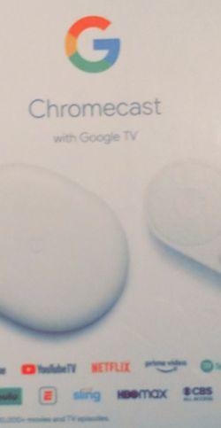 Brand New Google Chromecast 4K for Sale in Houston,  TX