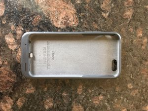 iPhone 6 extra battery case for Sale in Grosse Pointe Park, MI