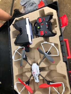 Air Hogs Sentinel Helix Drone w/vr headset included for Sale in Lakewood, CO
