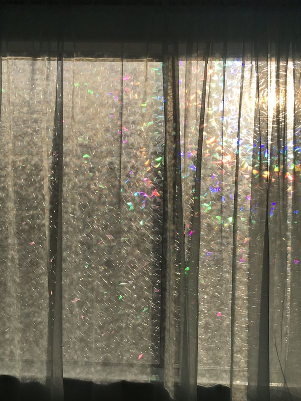 Absolutely Amazing Rainbow Stain Glass Window Film For
