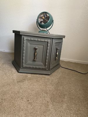 McM antique end table with storage for Sale in Peoria, AZ