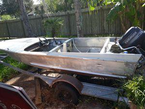 1957 aluminum boat for Sale in Manvel, TX