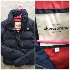 Abercrombie and Fitch Winter jacket Size medium Like new condition Pickup is in Branford for Sale in Branford, CT