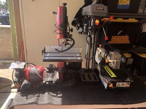 Bandsaw,benchgrinder ,drill press,scroll saw for Sale in Cudahy, CA