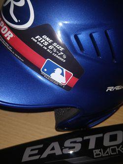 Baseball Helmet And Bat For Child for Sale in Visalia,  CA