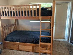 Bunk bed and matching dressers for Sale in Oakland, CA
