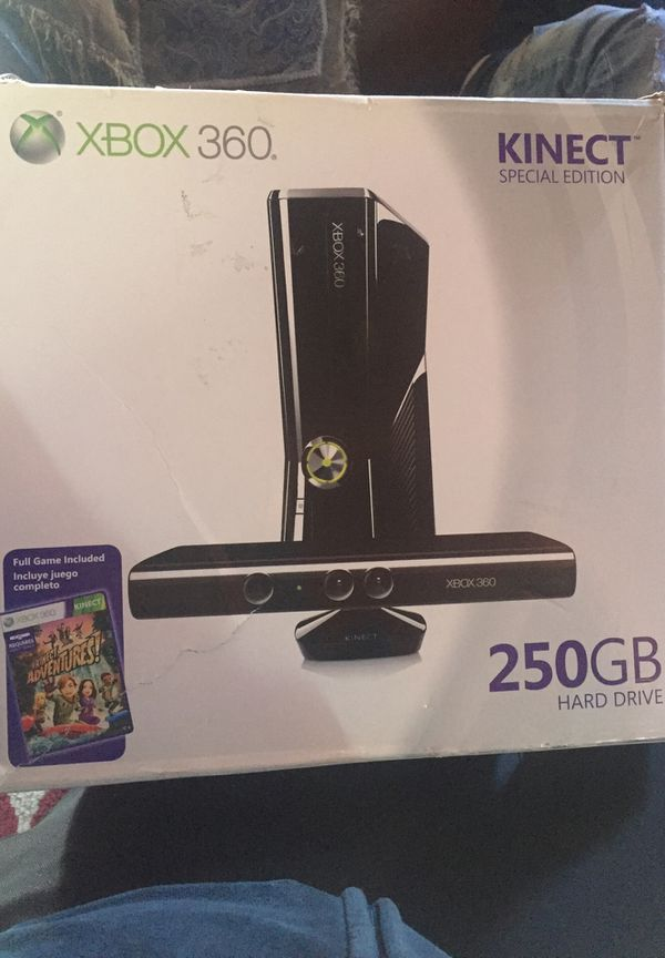 X box 360 Kinect Special Edition 250 Hard Drive ,Brand New