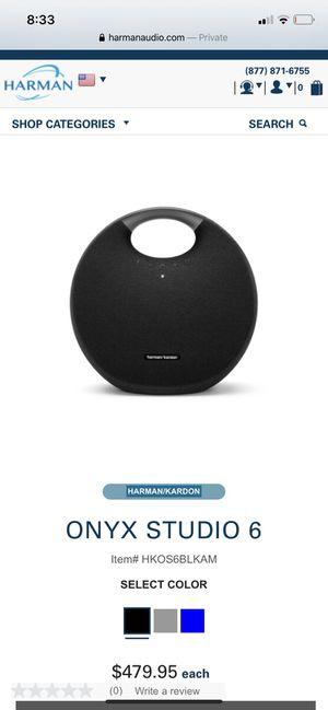 Harmon Kardon Onyx Studio 6 Black for Sale in Landover, MD