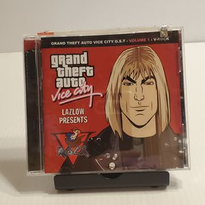 Grand Theft Auto Vice City CD Vol. 1 V-Rock by Various Artists. UPC 696998700222. Pre-owned, very good shape. for Sale in Saratoga, CA