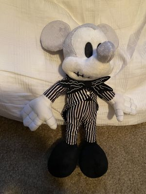 Mickey Mouse as Jack Skellington Plush Nightmare Before Christmas for Sale in Dinuba, CA