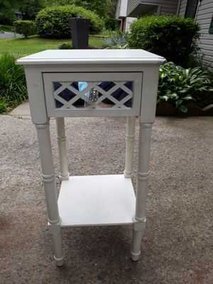 Table with mirror on front drawer for Sale in Woodbridge, VA