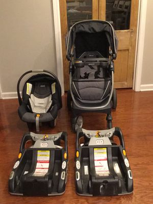 Chicco Bravo Travel System - 4 pieces for Sale in Denham Springs, LA