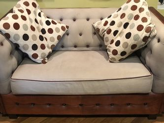 Brown Cow Leather Love Seat for Sale in Brooklyn,  NY