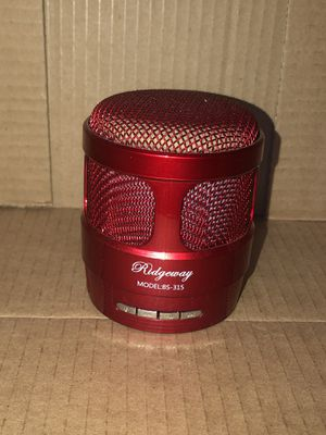 Red Bluetooth Speaker for Sale in Fresno, CA