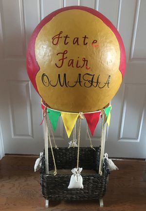Hot air balloon decoration approx 4 feet tall for Sale in Allen, TX