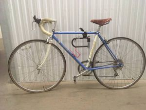 """Road Bike - 29.5"""" - Blue and White - With New Brooks Saddle for Sale in Seattle, WA"""