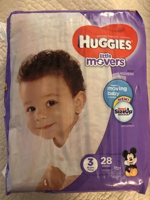 Huggies Little Movers, All Sizes for Sale in Bowie, MD