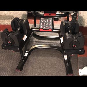 Bowflex SelectTech 560 with Stand for Sale in Seattle, WA