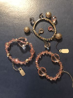 3 COSTUME BRACELETS for Sale in Pueblo West, CO