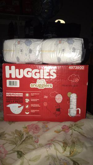 Huggies new born diapers for Sale in Las Vegas, NV